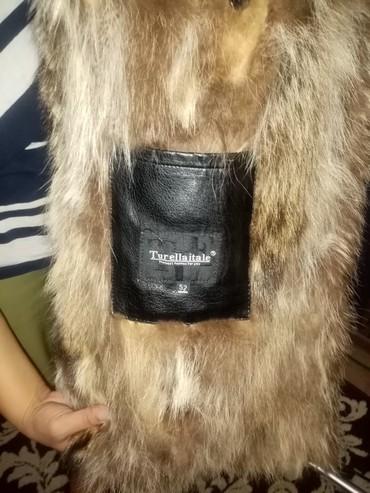 Куртки - Сокулук: Мужская парка. Волчья, натуральный мех. Состояние нового. 52 размер