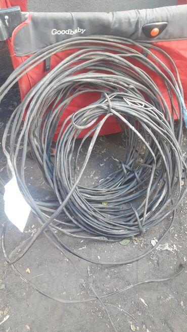 Другое электромонтажное оборудование - Бишкек: Б/У.Кабель.Аввг16мм2.двух жил.алюминовый.40метр 20 метр 14метровые