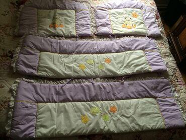 бортики для кроватки в Азербайджан: Бампер (бортик) для детской кроватки. Закрывает по всему периметру