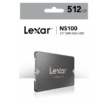 """Sərt disklər və səyyar vincesterlər Azərbaycanda: LEXAR 512 GB SSD NS100LEXAR 512 GB SSD NS100 6GB/sLexar NS100 2.5"""""""
