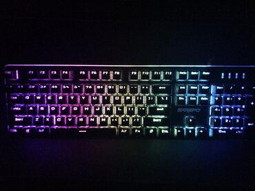 Klaviaturalar - Azərbaycan: Yeni klaviatura: SAREPO KG500. 🟢Mexanika, RGB, Alüminiyden elenmiw
