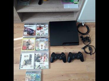 Prodajem Sony Playstation 3, PS3 320GB.   Uz konzulu ide:  -HDMI - Beograd