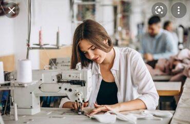 129 elan | İŞ: Gəncə şəhərində yeni açilan tikiş fabrikinə professional tikiş