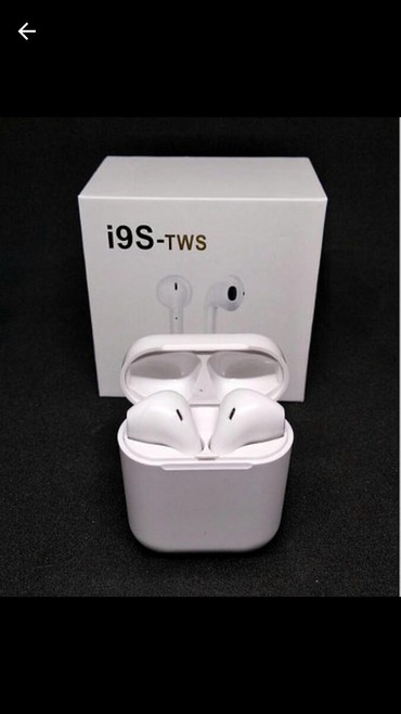 Без проводные Bluetooth  наушники Airpods i9s TWS  в Бишкек