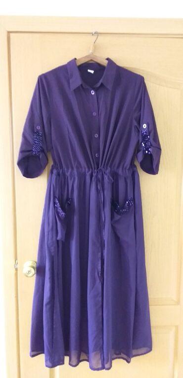 фиолетовое платье на свадьбу в Кыргызстан: Очень красивое платьеодела один раз на свадьбу во время беременности