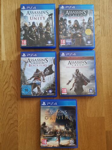 Assassins Creed PS4 igrice!