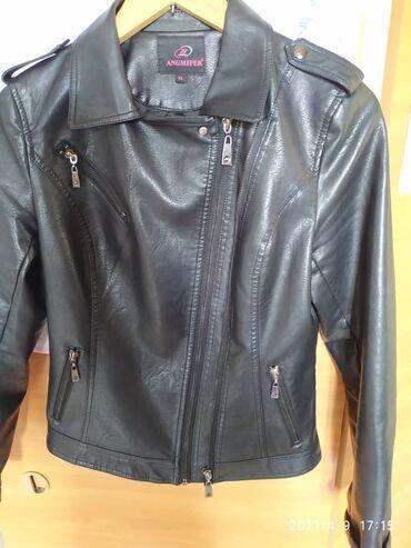 Продаю кожаный, женский пиджак, размер XL. Качество отличное. Одевала
