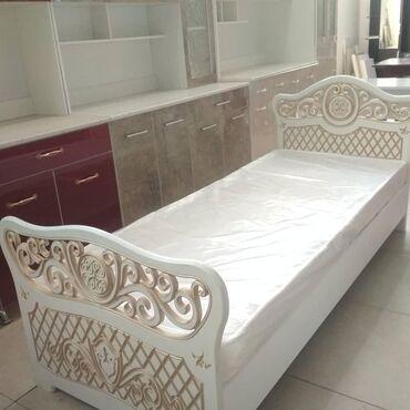 Мебель на заказ в Кыргызстан: Кровать на заказ 200-80