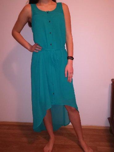 Duga leprsava haljina - Kraljevo: Letnja,leprsava, udobna i prijatna za nosenje, velicina M