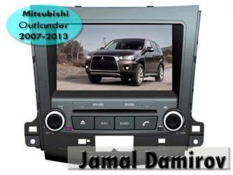 Bakı şəhərində Mitsubishi Outlander 2007-2013 üçün DVD- monitor. DVD- монитор для Mitsubishi Outlander 2007-2013. DVD- monitor for Mitsubishi Outlander 2007-2013.