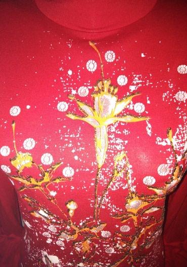 Футболки - Кок-Ой: Красивая и качественная тоненькая водолазочка! Турция! цвет алый