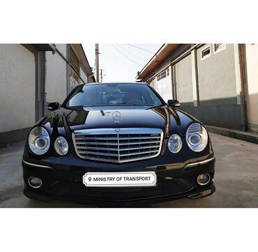 Транспорт в Душанбе: Mercedes-Benz E-Class 3.5 л. 2009