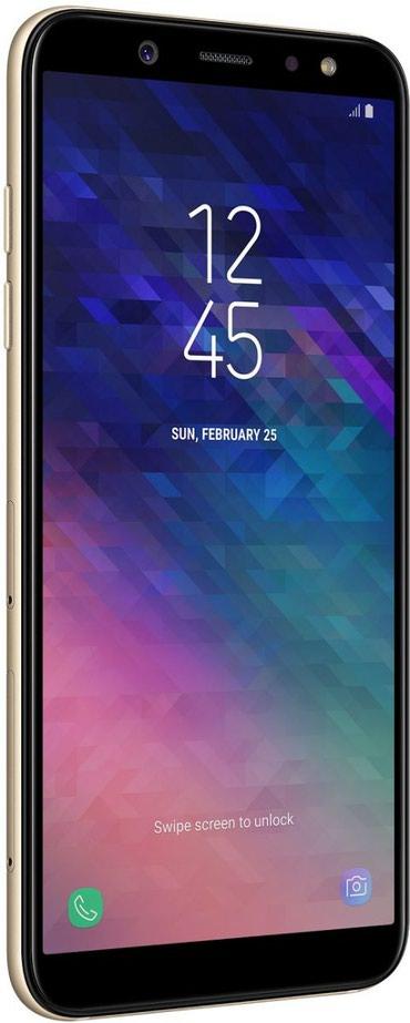 Samsung i8910 omnia hd gold edition - Azerbejdžan: Novo Samsung Galaxy A6 32 GB zlatni