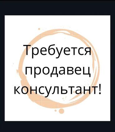 Поиск сотрудников (вакансии) - Кыргызстан: Продавец-консультант. С опытом. 5/2