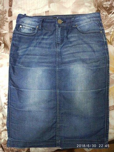 джинсы хорошего качества в Кыргызстан: Продаю джинсовую юбку, хорошего качества б/у, состояние хорошее