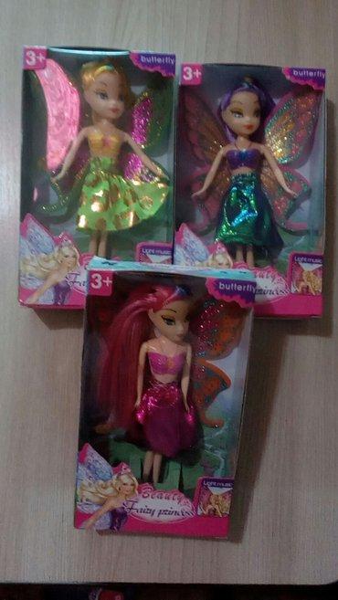 Куклы феи 3 штуки 500сом 1 штука - 200 сом в Бишкек