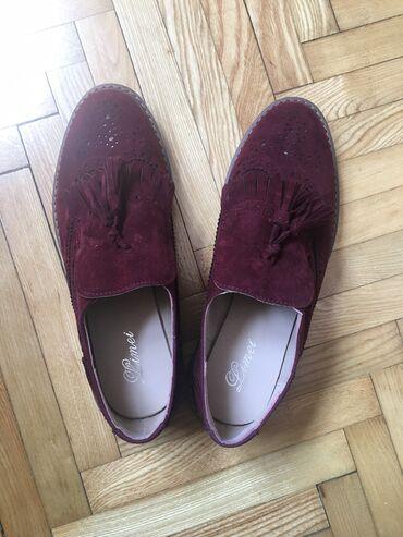Ženska obuća | Kragujevac: Cipele 38, malo veci kaplup, NOVE! Boja tamna malo svetlija na slikama