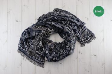Жіночий шарф-палантин   Довжина: ≈196 см Ширина: ≈128 см  Стан: дуже г