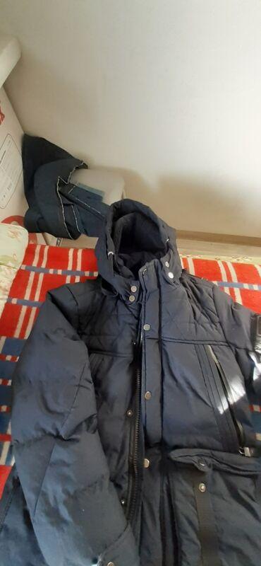Куртка мужская зимняя тёплая в хорошем состоянии размер М 46