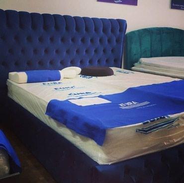 Мягкая кровать 1,6 * 2,0 Основа:железный каркас Ткань:Турция в Бишкек