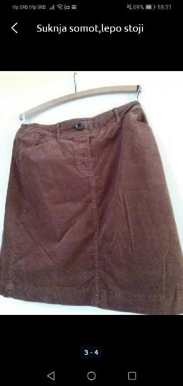 Suknja somot