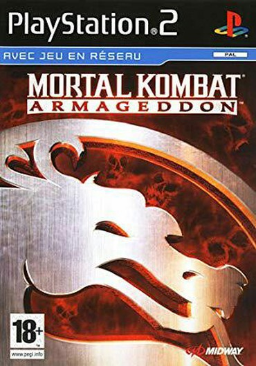 PS2 & PS1 (Sony PlayStation 2 & 1) Azərbaycanda: MORTAL KOMBAT ARMAGEDDON PS2 üçün döyüş oyunu