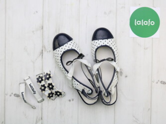 Детский мир - Украина: Дівчачі черевички із змінними застібками Lelli Kelly, 37     Бренд Lel
