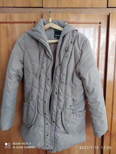 Личные вещи - Балыкчы: Куртка отдам за гель для мытья посуды г.42 44 размер г. балыкчы