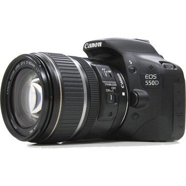 Фотоаппарат canon 550d - 13000 сом в Бишкек