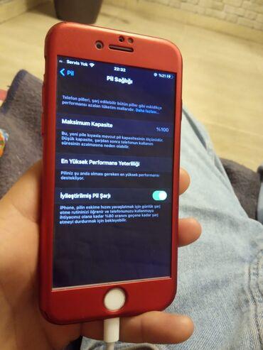 İşlənmiş iPhone 7 128 GB Qırmızı