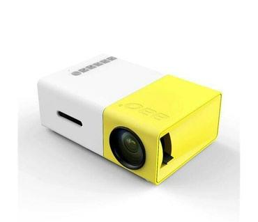 Портативный мини проектор YG-300 в Бишкек