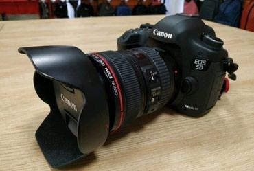 зеркальный фотоаппарат canon eos 70d body в Азербайджан: Canon eos 5D mark iii body ela veziyyetde. Probegi 1508 Hec bir