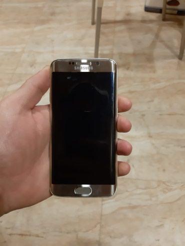 Bakı şəhərində Samsung s6 edge 3/64 gb. arxa krişkasında çat var. barmaq izi