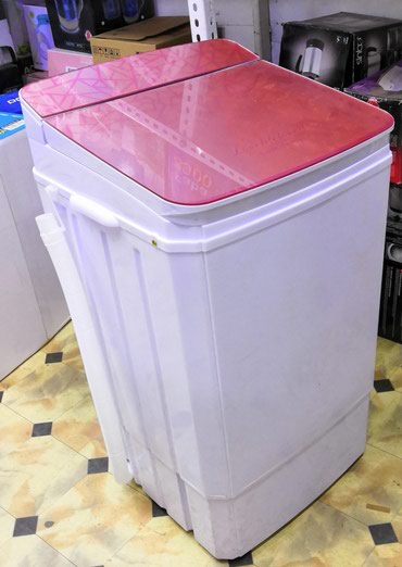 ультразвуковая мойка 5 литров в Кыргызстан: Вертикальная Полуавтоматическая Стиральная Машина 5 кг