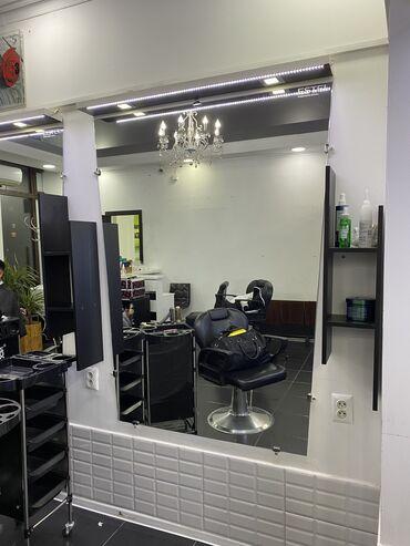 зеркала бишкек in Кыргызстан | АВТОЗАПЧАСТИ: Продаю зеркало с подсветкой и полкой для салона красоты, есть 4шт