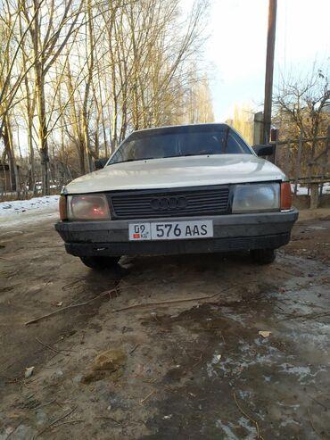 переходка в Кыргызстан: Audi 100 1.8 л. 1986 | 189061 км
