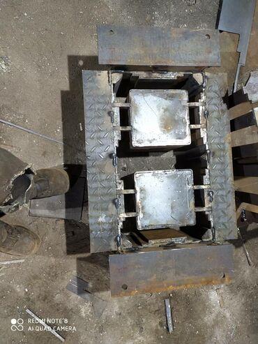 Бирдик матрица - Кыргызстан: Делаем матрицы для песка блока Прес 14 мм + оно коленное Срок 3/4 дня