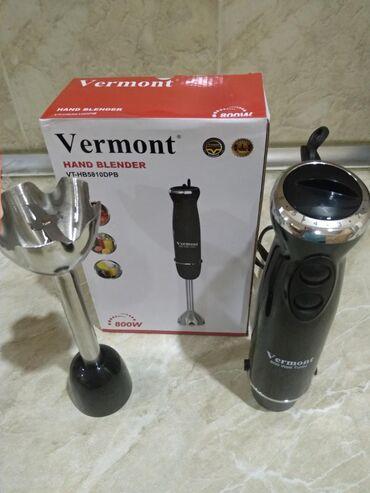 """Blender """"Vermont 58-10""""800 w gücündə blender, orijinaldır6 sürətli +"""