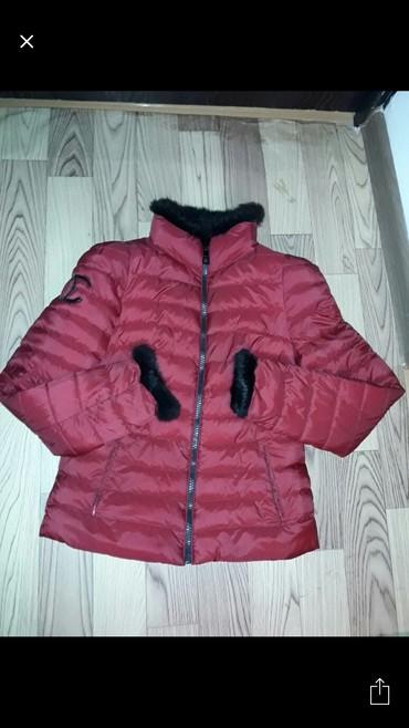 Женская одежда - Беш-Кюнгей: Куртка деми состояние отличное мех натуральный и густой или обмен