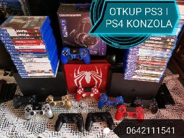 Otkupljujem Sony Playstation 3 i 4 ( ps3 i ps4 ). Otkupljujem po