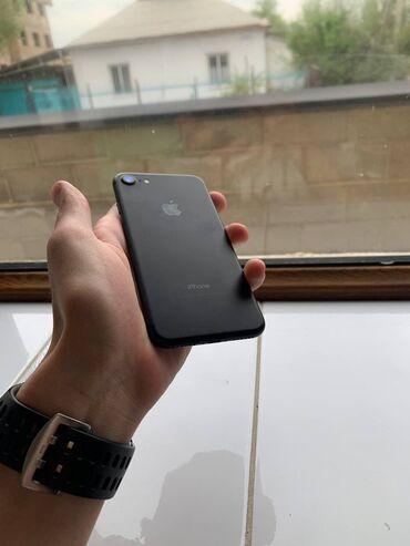 айфон 7 цена in Кыргызстан   APPLE IPHONE: IPhone 7   128 ГБ   Черный Б/У   Гарантия