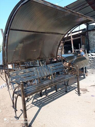 беседки бишкек in Кыргызстан | ГРУЗОВЫЕ ПЕРЕВОЗКИ: Скамейки с узорами металлическая. Длина 2м в наличии естьПринимаем
