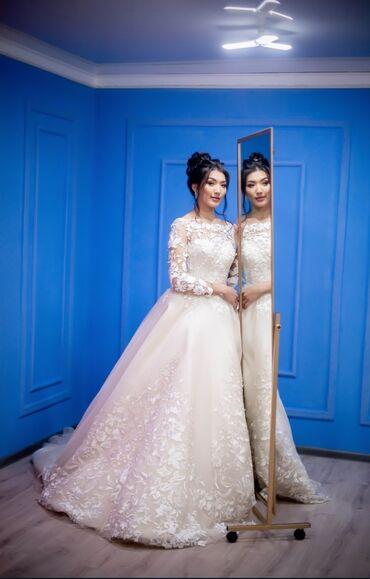 свадебные платья хиджаб в Кыргызстан: Продаётся Можно на прокат Просто нежнейшая платье 🥰🥰 просто любовь