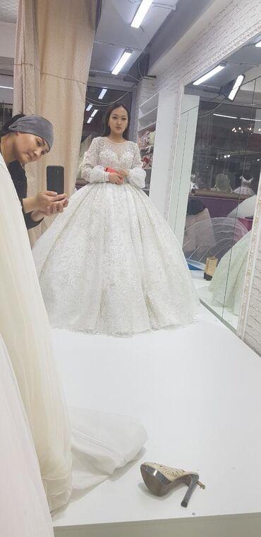 Свадебная платья прокатка берилет комплекте фатасы карона жана сойкосу