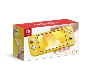 Nintendo Switch - Azərbaycan: Nintendo switch lite yellow