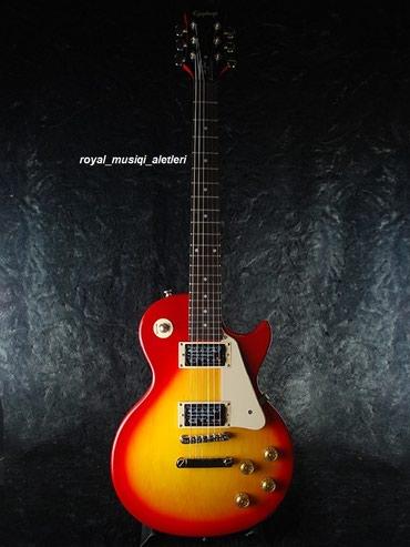 Bakı şəhərində EPIPHONE elektro gitara Model: Les Paul 100 SB