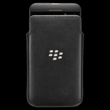 pocket book - Azərbaycan: Кожаный чехол Leather Pocket Case для BlackBerry Z10. Новый. Premium