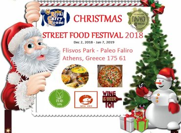 Christmas Street Food Festival σε Athens