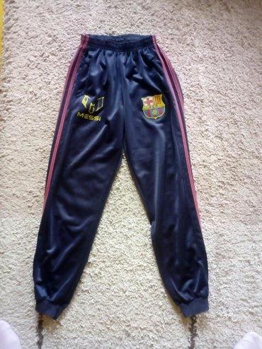 Dečija odeća i obuća | Pancevo: Trenerke Messi. Imaju dzepove,nemaju ostecenje nikakvo. Vel.12Duzina