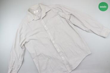 Чоловіча сорочка в смужку F&F, р. L   Довжина: 74 см Ширина плечей